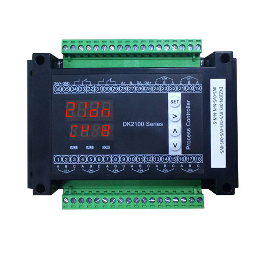 DK21DN guide rail type 8 way universal input inspection controller data acquisition device