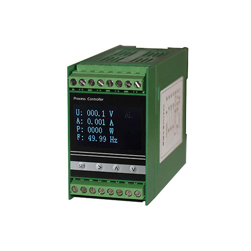 DK61DND OLED single phase DC multi-function power meter guide rail installation