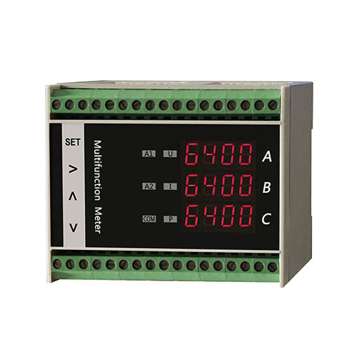 DK64DN guide rail multifunction RMS power meter power meter
